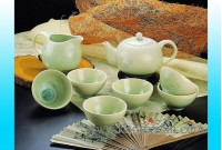 結晶釉茶具 Crystal glaze tea set