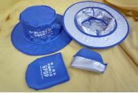 防UV摺疊尼龍帽 - 個資辦